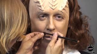 Step by Step KLINGON  -STAR TREK- Makeup Process by LKM