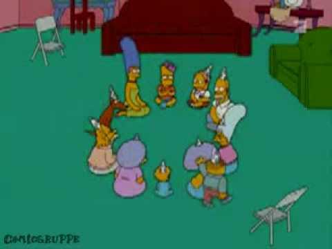 Simpsons Ente Ente Ente