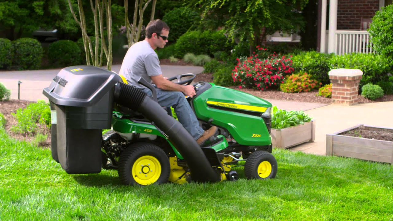 hight resolution of john deere riding lawn tractors video