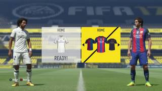 FIFA 17 Real Madrid vs Barcelona 0-2 Gameplay Full Match PS4 HD