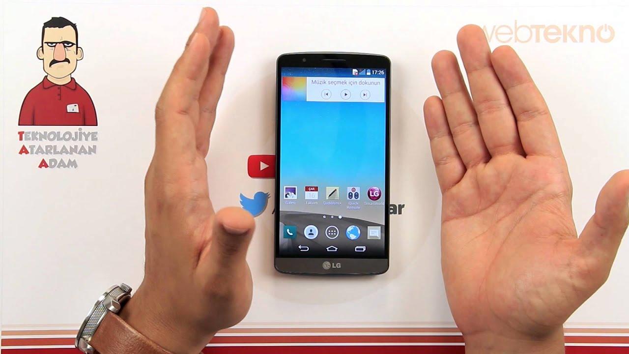 LG G3 İncelemesi - Teknolojiye Atarlanan Adam