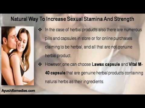 How to increase sexual stamina naturally for men