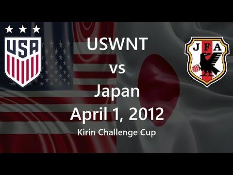 USWNT vs Japan April 1, 2012