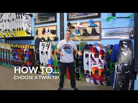 How To Choose A Twin Tip Kiteboard : The BIG THREE