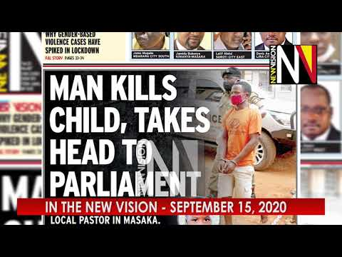 In the New Vision September 15 2020