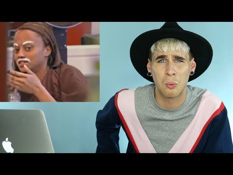 HAIRDRESSER REACTS TO AMERICAS NEXT TOP MODEL MAKEOVERS PART 6! | bradmondo
