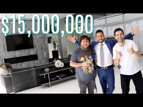 JOSH PECK TOURS INSANE 15,000,000 BEVERLY HILLS HOME!