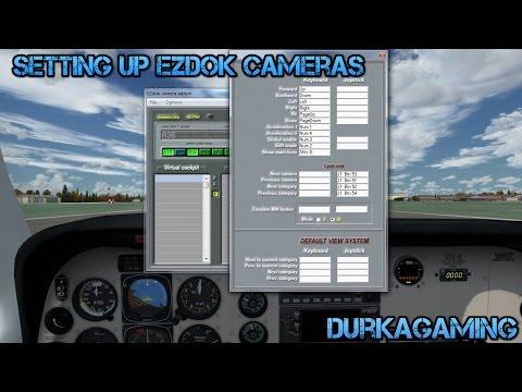 P3D /FSX - Setting Up Ezdok Cameras