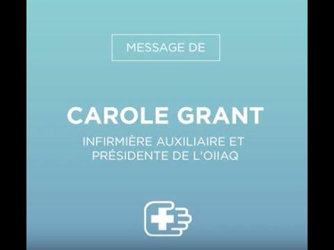 Message de Carole