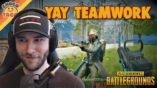 chocoTaco and Lurn Have Each Other's Backs - PUBG Gameplay