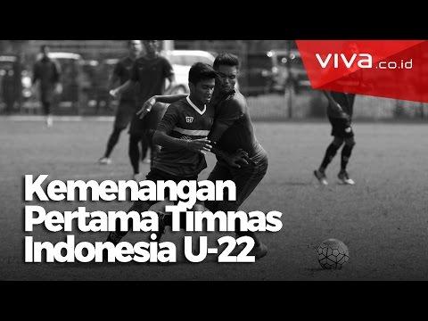 Timnas Indonesia U-22 Akhirnya Menang Juga