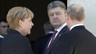 """Путин: """"У Порошенко есть план"""""""