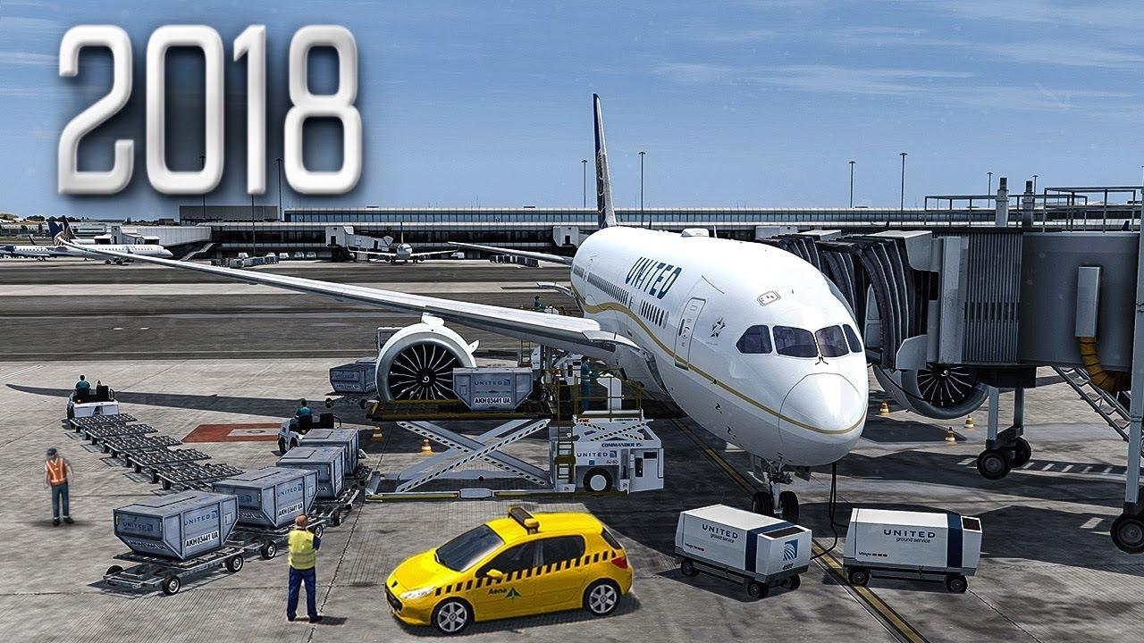New Flight Simulator 2018 in 4K - P3D 4 2 | Spectacular Realism