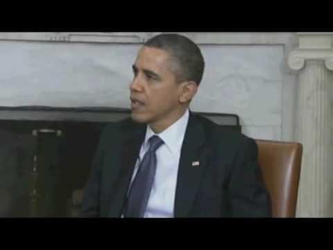 Barack Obama with Benjamin Netanyahu - March 2012  (Israel Live Com)