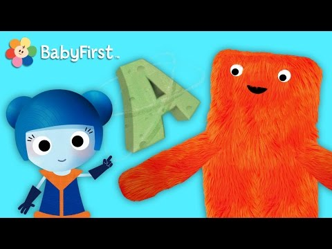 The Letter A | Learn English | ABC Galaxy | BabyFirst TV