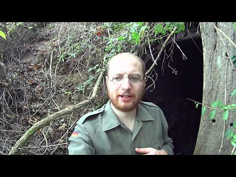 Hidden WW2 Underground Hospital (Bunker & Tunnel Exploring)