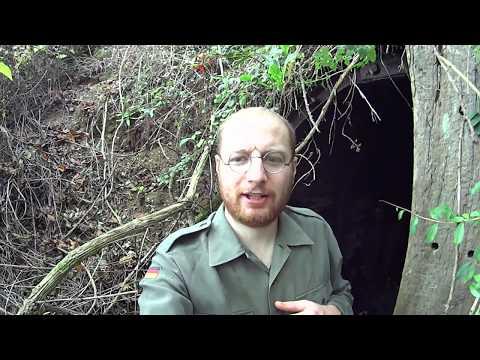 Hidden WW2 Underground Hospital (Bunker & Tunnel Exploring)