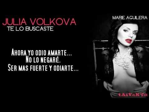 Julia Volkova | All Because Of You | Spanish Cover | Te Lo Buscaste