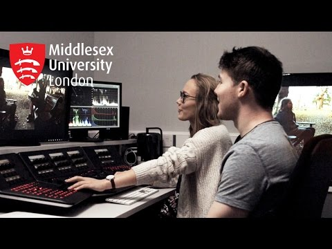 Film and Television Production at Middlesex University