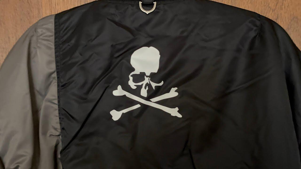 Mastermind Japan x c2h4 x alpha industries bomber jacket