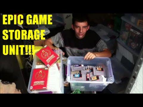 EPIC GAME STORAGE UNIT!!!   Scottsquatch