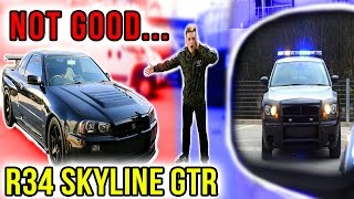 RACING ILLEGAL CARS ON PUBLIC ROADS! (R34 SKYLINE GTR)