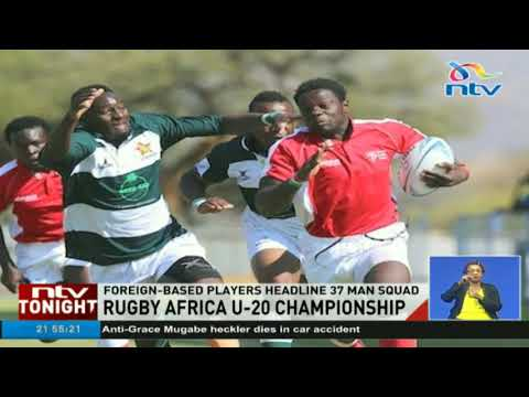 Foreign based players headline Kenya's U-20 Rugby Africa championship team