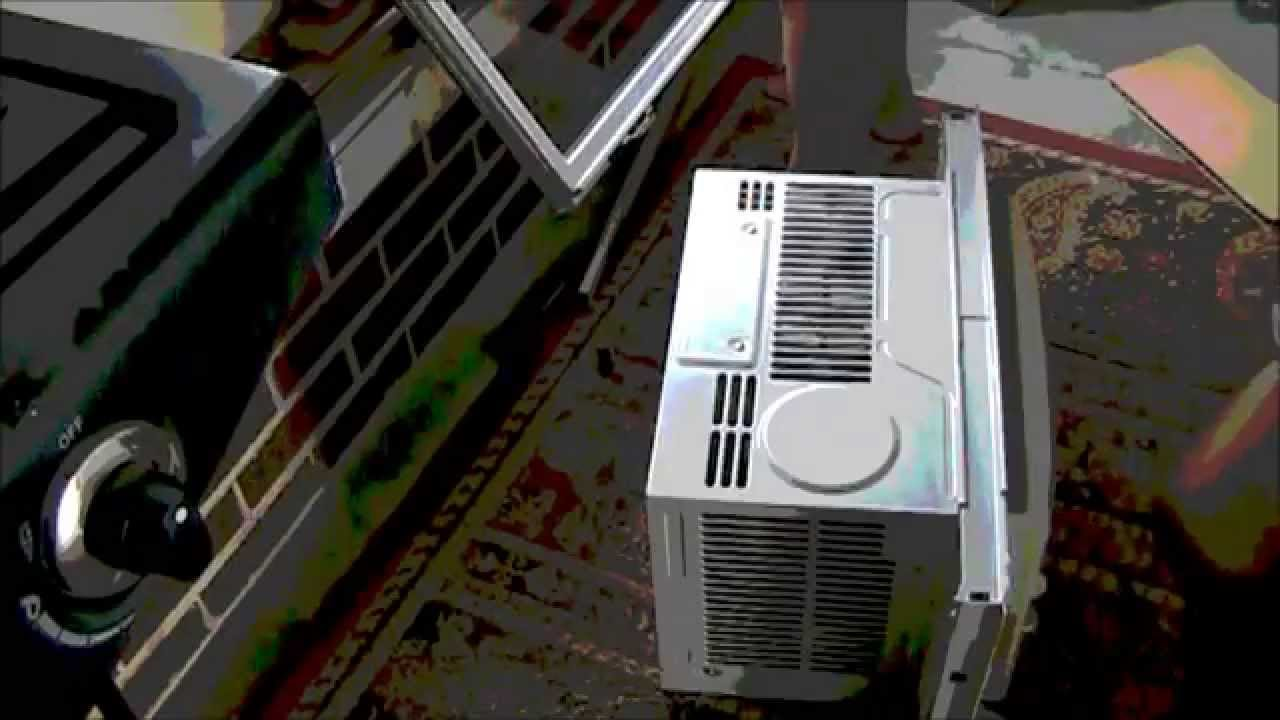 unboxing and of a brand new btu frigidaire window air conditioner hd