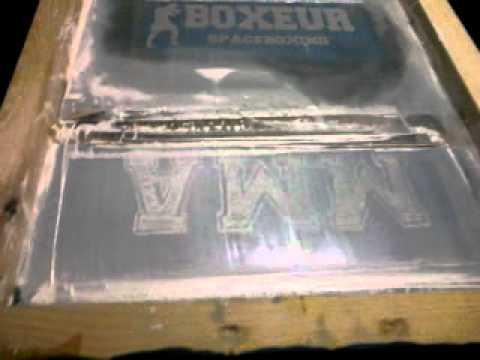 Serigrafria A 1 Tinta MMA.