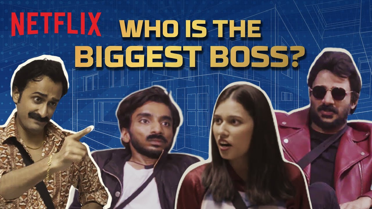 What If Netflix Characters Were In Biggest Boss | Shivankit, Badri, Abhinav, Chhote Miyan & Saloni