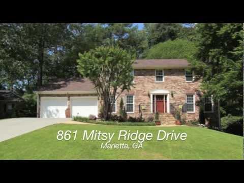 861 Mitsy Ridge Drive, Marietta, GA  - Walton High School District
