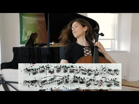 Bach Masterclass: Allemande from Suite No. 1 - Musings with Inbal Segev