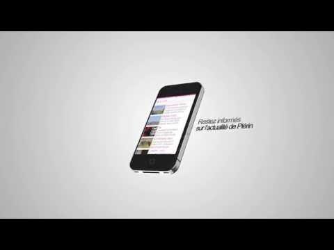 Découvrez l'appli mobile de la ville de Plérin