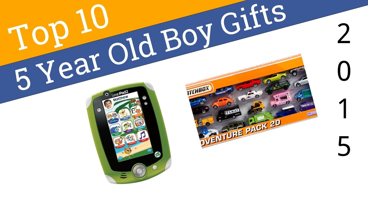 10 best 5 year old boy gifts 2015