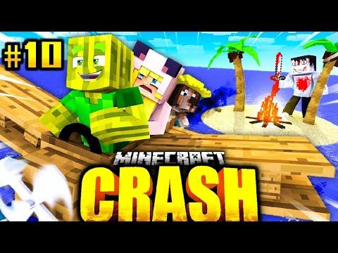 ISY, FLO & BILLY VERLASSEN die KILLER INSEL?! - Minecraft CRASH #10 [Deutsch/HD]