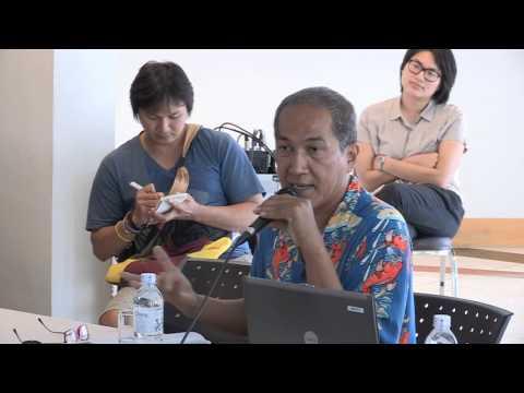 Literature: ศิลปะของการเขียนเรื่องเดินทาง_ภาณุ มณีวัฒนกุล_Bangkok Creative Writing Workshop 2 (2013)
