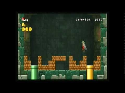 New Super Mario Bros Wii World 6 Tower Secret Youtube