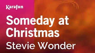 Karaoke Someday at Christmas - Stevie Wonder *