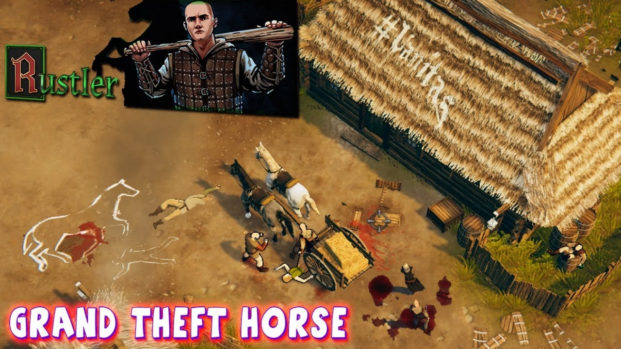 Rustler (Grand Theft Horse) Gameplay - Be A Medieval Thug.. PC STEAM 4K -  YouTube