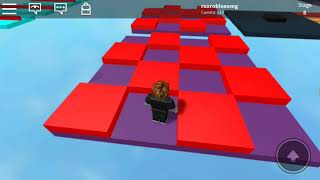 The biggest and most difficult parkur in the Rux Roblox universe my first video