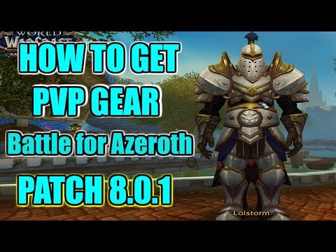 PVP Guide | How to get pvp gear in BFA...