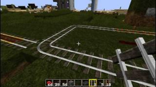 Полуавтоматическая Ж/Д станция  ч.2/2 [Уроки по Minecraft]