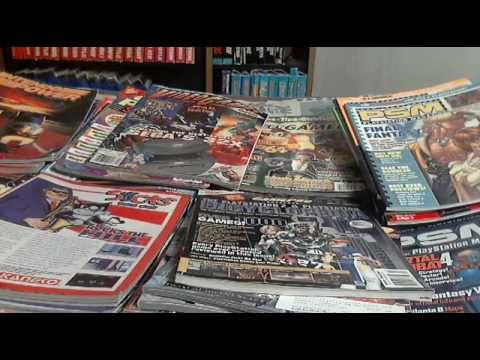 My Video Game Magazine Collection Update as of 2015
