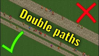 How to Build Functİoning Double Paths in RCT2