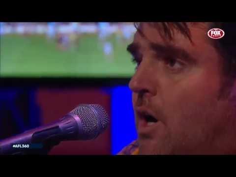 Alex Lloyd 'Coming Home' (Live on AFL Foxtel)