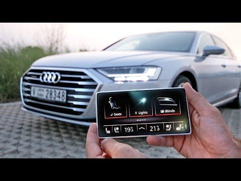 هذه هي اذكى اودي في التاريخ - Audi A8