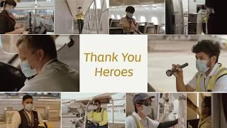 Thanking our Frontline Heroes | Etihad Airways