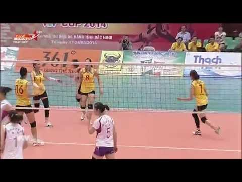 Vietnam vs Yunnan -  VTV Cup 2014 D2