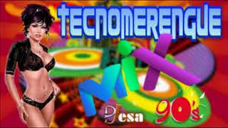 TECNO MERENGUE REMIX  DE LOS 80 Y 90 DE ALEX DJ