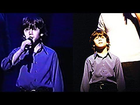 "9 year old Nick Jonas sings ""Someday"" LIVE! (RARE) on Broadway! ORIGINAL VIDEO"
